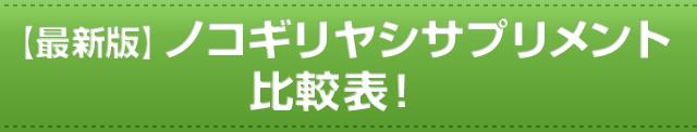【最新版】ノコギリヤシサプリメント比較表!